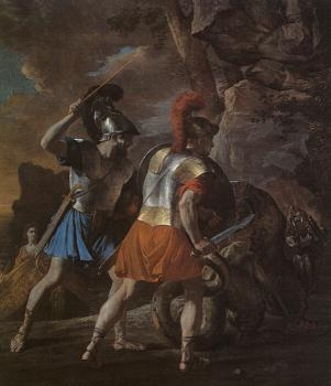 Nicolas Poussin : The Companions of Rinaldo